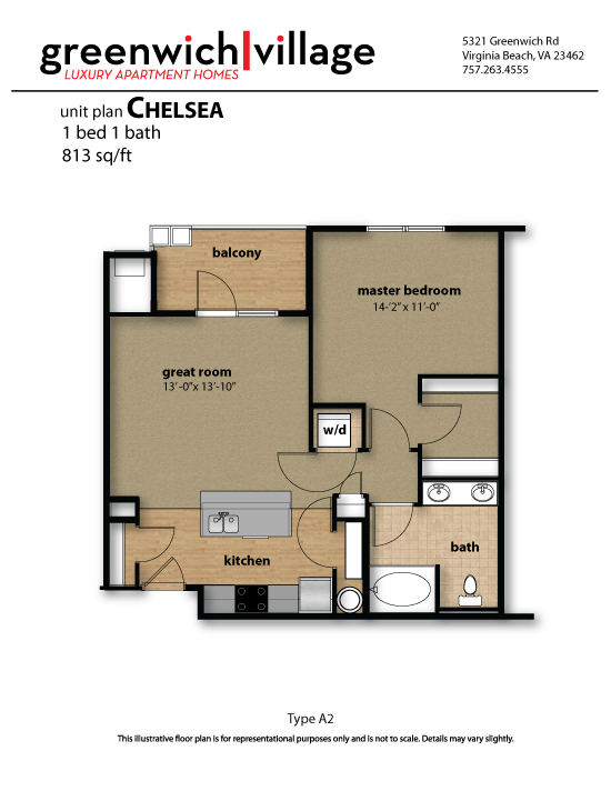 Greenwich Village Floor Plan Chelasea