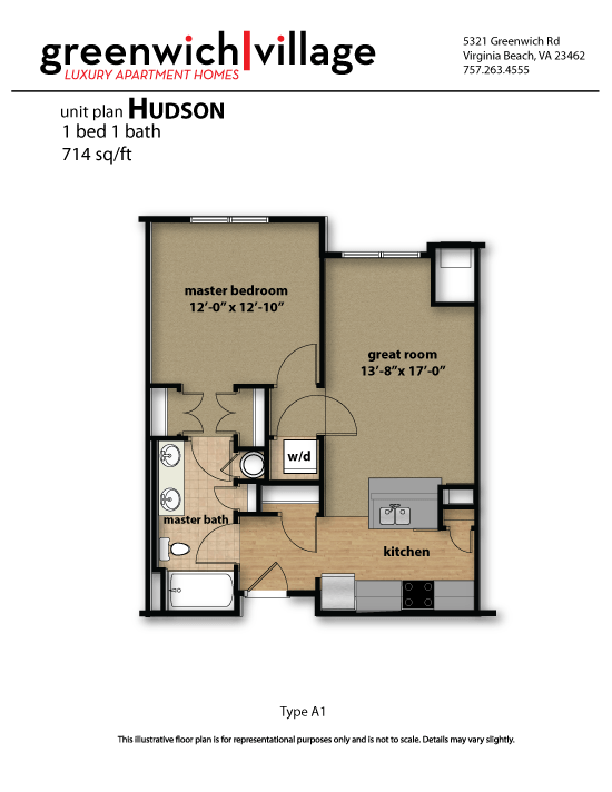 Greenwich Village Floor Plan Hudson