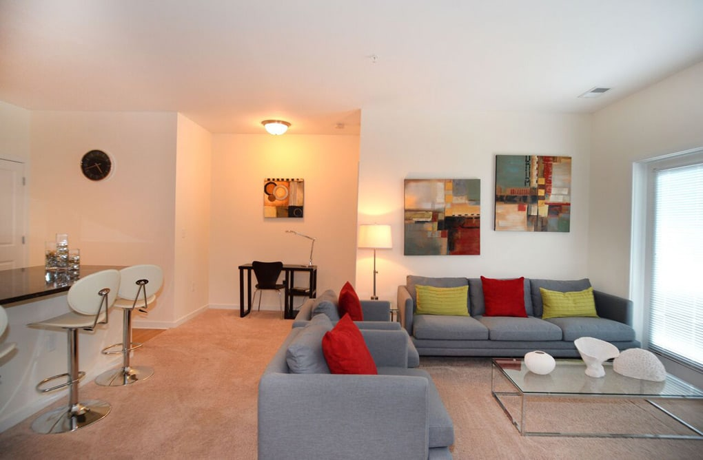 Greenwich Village Luxury Apartment Homes Apartment Living Room